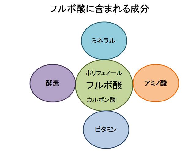フルボ酸の成分